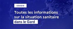 Situation sanitaire et rappel sur la réglementation du port du masque #COVID19