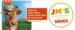 Journées méditerranéennes des saveurs (JM'S) :  Le salon de l'agriculture et des savoir-faire de nos terroirs est de retour les 25-26 septembre !