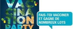Contre la Covid-19: 1ère en France Près de 800 participants à la Vaccination Party!